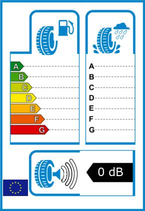 EU-Reifel-Label Kraftstoffeffizienz-Klasse  Nasshaftung-Klasse  Rollgeraeusch-Klasse 0 Rollgeraeusch-dB 0